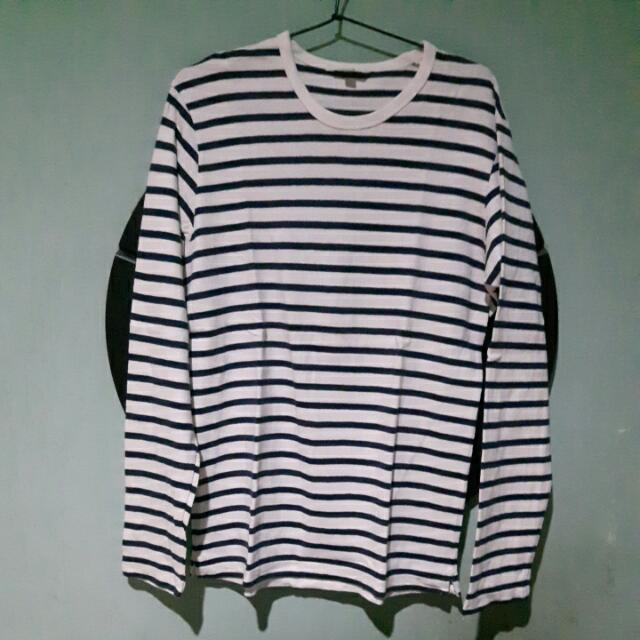 Uniqlo Stripes Long Sleeve