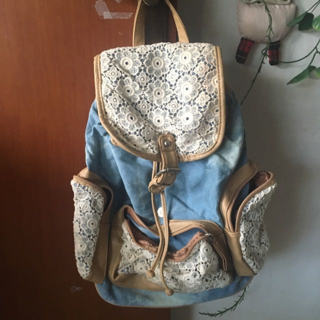valleygirl lace backpack