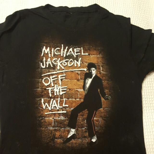 Vintage Michael Jackson Tee Size 10