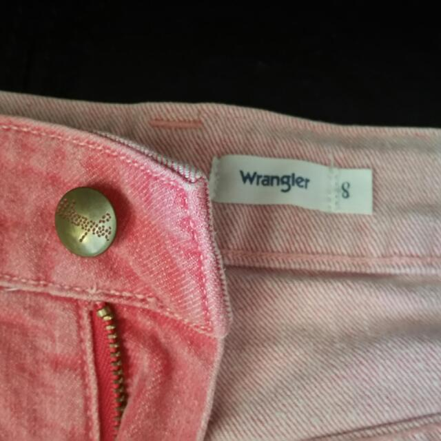Wrangler Hi-Rise Pink/Red Shorts Size 8