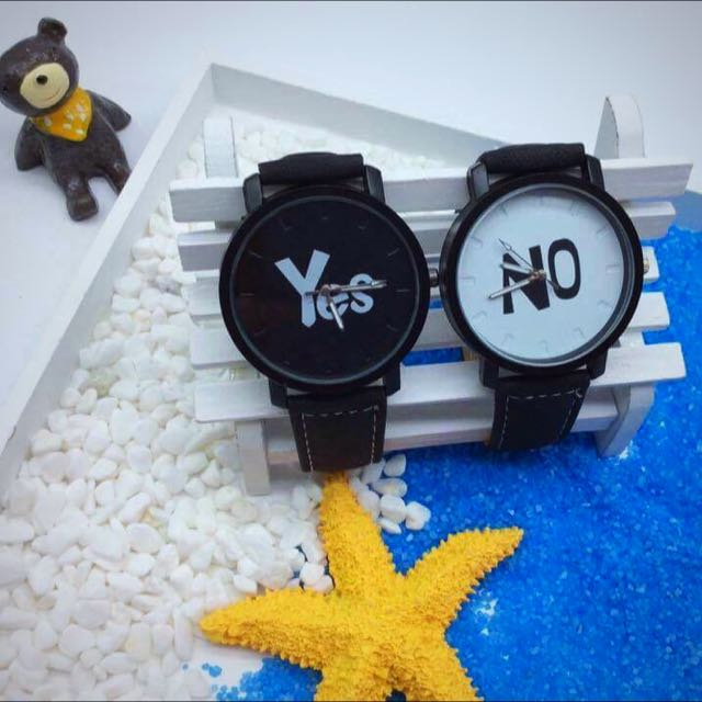 Yes No Couple Watch