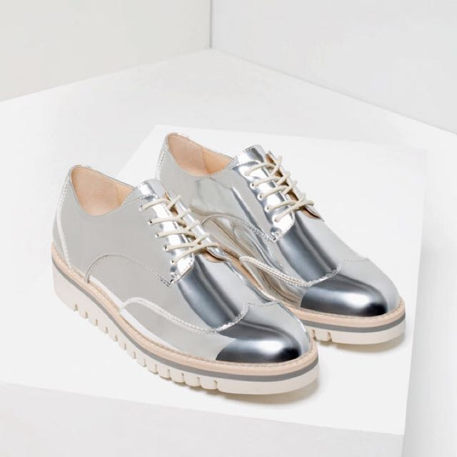 ZARA SILVER BROUGES