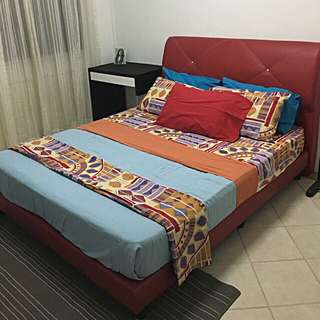 QUEENSIZED BED FRAME (brand FortyTwo)
