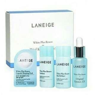 Laneige White Plus Renew Trial Kit 4 Items