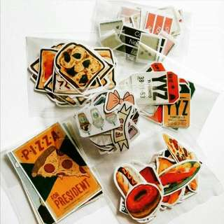 6 Packs Of Stickers