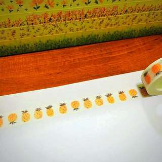 15mm*10m The Pineapple Affairs Washi Tape!