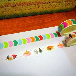 15mm*10m Go The Right Direction And The Snugly Rabbits Washi Tapes!