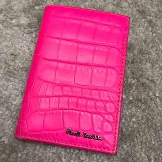 Paul Smith 螢光粉紅 短夾(歐洲購)