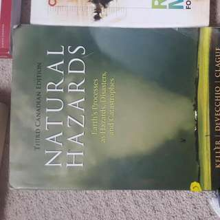 Natural Hazards. Geography Textbook
