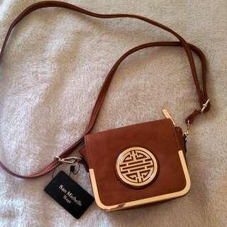 New Tan Shoulder Bag