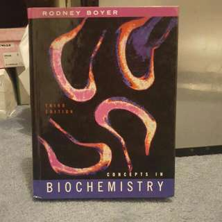 Concepts in Biochemistry- 3rd edition
