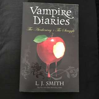 Vampire Diaries Book One And Two