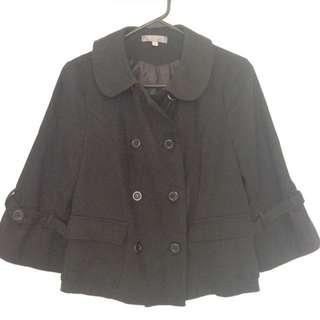 TEMT Black Half-coat