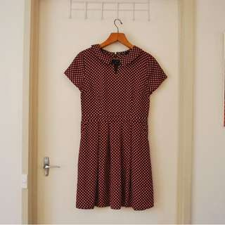 Tokito Collared Dress