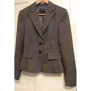 CUE work Jacket Excellent Condition Size 8