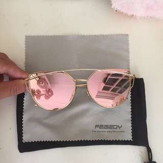 Rose And Gold Sunnies
