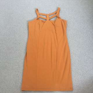 Burnt Orange Supre Dress