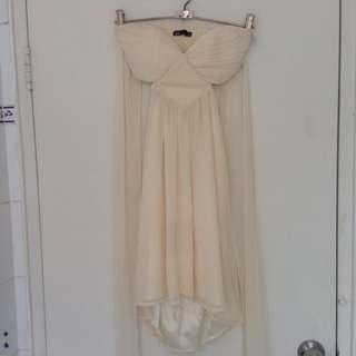 DOTTI Cream Minidress