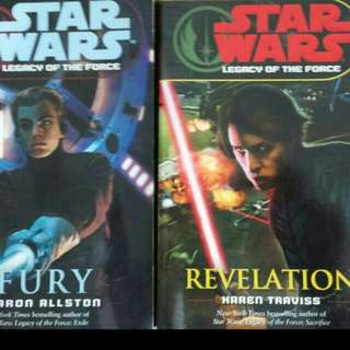 Star Wars Legacy Of The Force (Revelations And Fury)