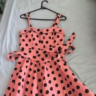 Spotty Party Dress
