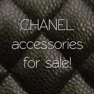 Authentic Chanel Accessories