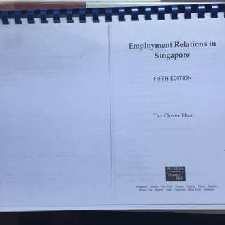 HP0201 Employment Relations In Singapore