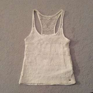 Abercrombie & Fitch Lace Tank - S