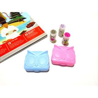 Lens Case / Softlens Case / Tempat Softlens Angry Bird