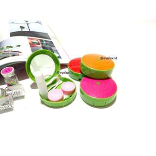 Lens Case / Softlens Case / Tempat Softlens Fruits Design