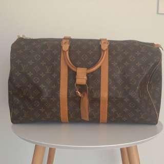 Authentic Vintage Louis Vuitton Travel Bag