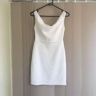 White Dissh Dress