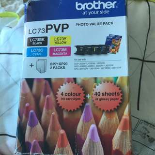Brother Colour Ink Cartridges