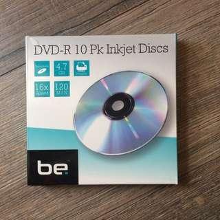 10 Pack Blank DVD