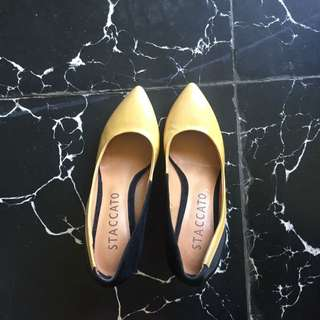 FIXED PRICE Staccato Nude Shoes Size 36-36.5