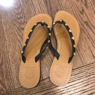 Tory Burch leather flip flop