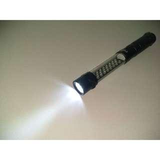Flashlight (LED) with magnet