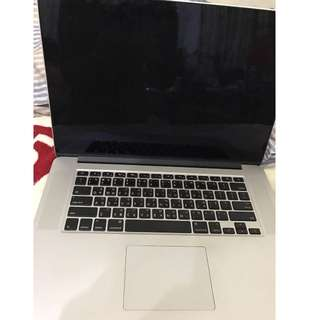 MacBook Pro (Retina, 15 英吋, 2013 年初)