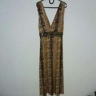 Dress Motif Ular