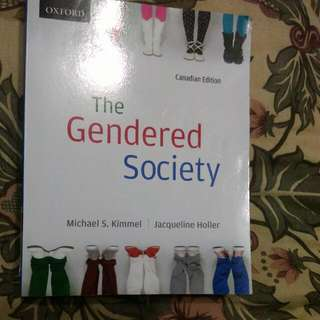 The Gendered Society - Canadian Edition