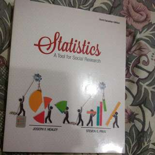 Statistics - A Tool For Social Research 3rd Canadian Edition