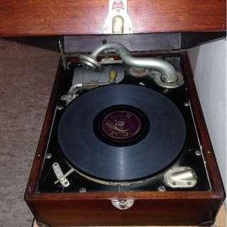 1930s Original Gramophone