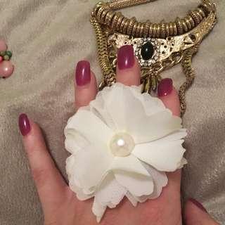 Adjustable Flower Ring