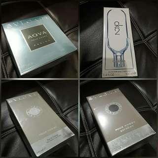 #Free Shipping Authentic US Perfume For Men On Hand ( Bulgari Aqua Marine, Extreame, Pour Homme, Ck2