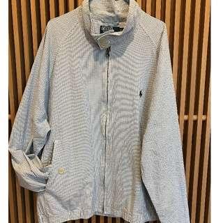 Ralph Lauren Polo Linen Jacket - Seersucker - SIZE L