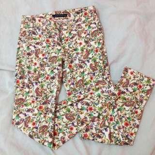 Original Zara Pattern Jeans #FreePostage