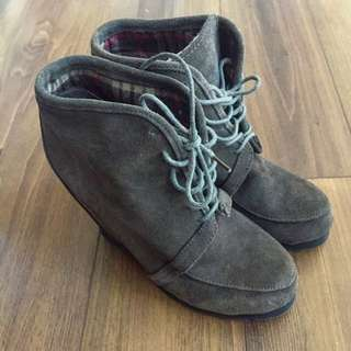 Also Wedge Booties