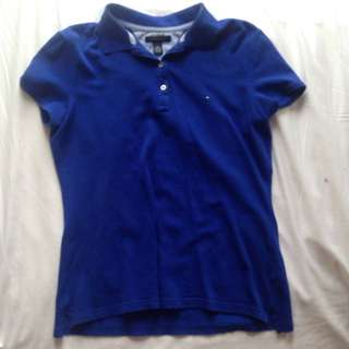TOMMY HILFIGER polo (blue)