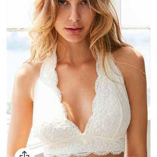 Urban Outfiters Out From Under Lace Halter Bra