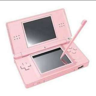 Nintendo DS lite In Pink