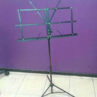 Collapsible Music Sheet Stand With Carry bag